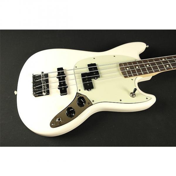 Custom Fender Mustang Bass PJ - Rosewood Fingerboard - Olympic White (370) #1 image
