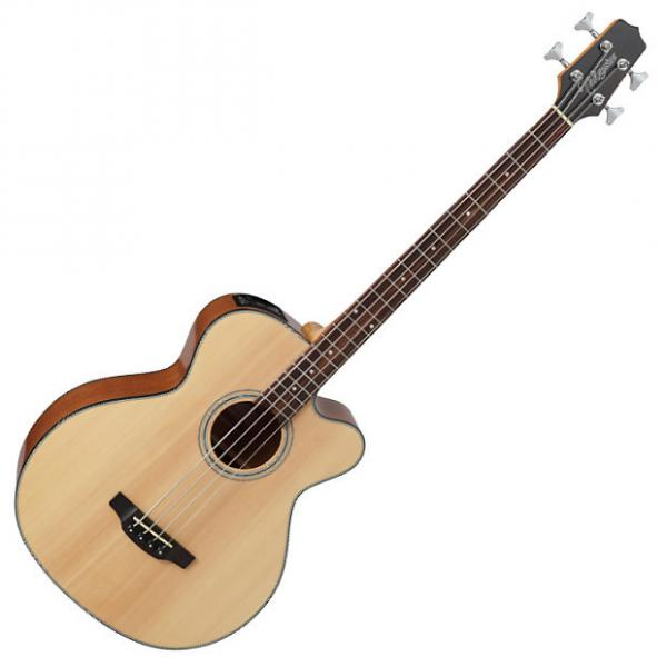 Custom Takamine GB30CE-NAT G-Series Acoustic Electric Bass in Natural Finish #1 image