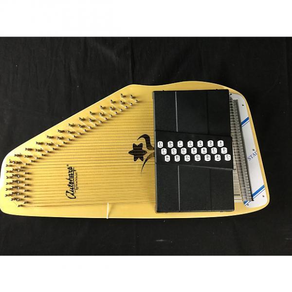 Custom B1 Stock- Oscar Schmidt OS45CE Appalacion 21 Chord Auto-Harp #1 image