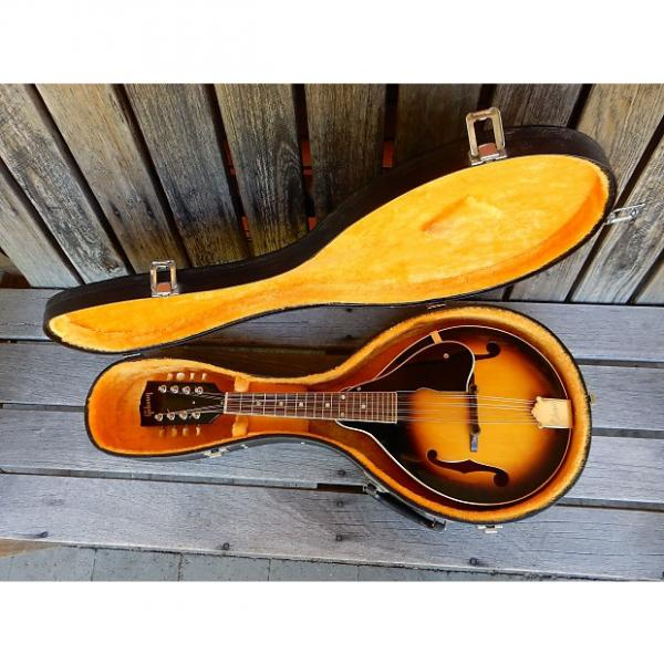 Custom Gibson  Mandolin A50 Brown Sunburst (Late 1950's) #1 image
