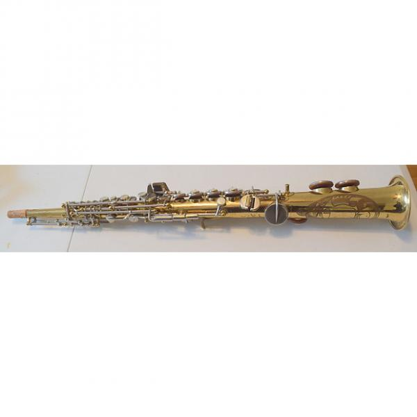 Custom Noblet French made Bb Soprano Sax Overhauled 1960's Original Lacquer #1 image
