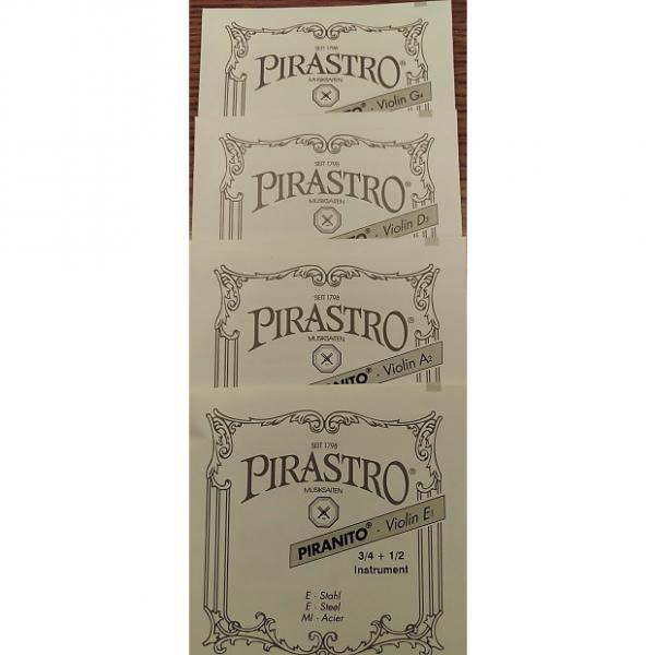 Custom Pirastro Piranito 3/4 + 1/2 Violin String Set #1 image