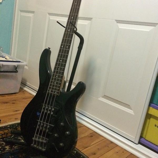 Custom Yamaha TRBX304 4-String Bass 2015 Black #1 image