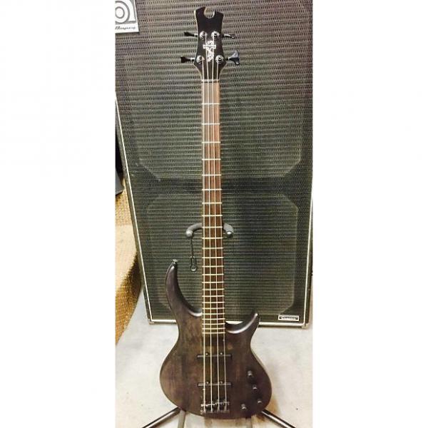 Custom Tobias Toby Standard-IV Electric Bass Ebony Black #1 image