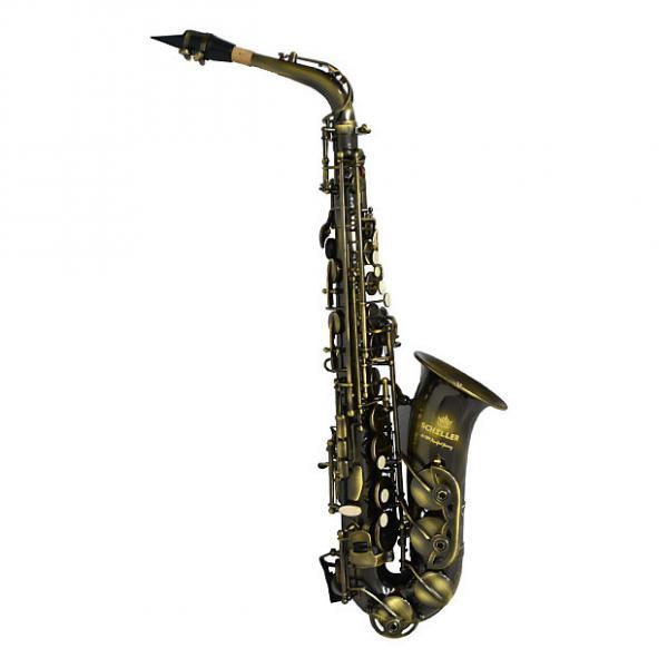 Custom Schiller American Heritage 400 Alto Saxophone - Turkish Brass #1 image