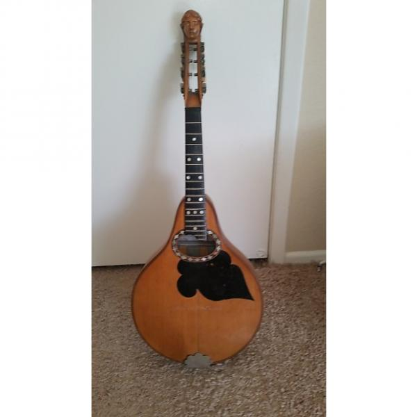 "Custom Vintage Mandolin Late 1800s/very early 1900s Ladyhead Style ""A"" type mandolin #1 image"