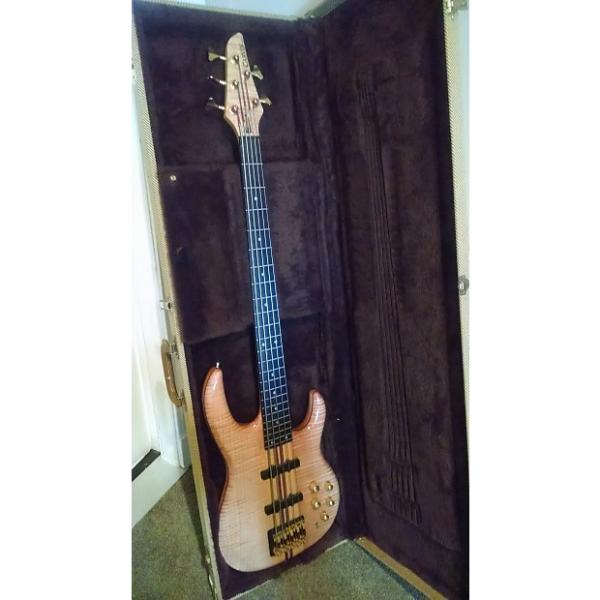 Custom Carvin LB 75 A Fretless Bass #1 image