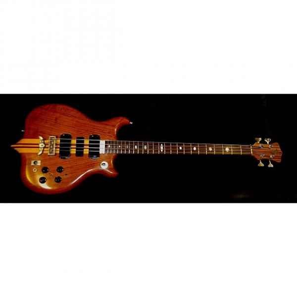 "Custom Alembic Series 1 1978 Natural. Owned & Played by ""Bob"" Burch of ELTON JOHN Band. Collectible. RARE. #1 image"