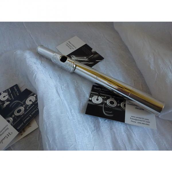Custom Drelinger Free Flow Gold Air Reed Max Flute head joint #1 image