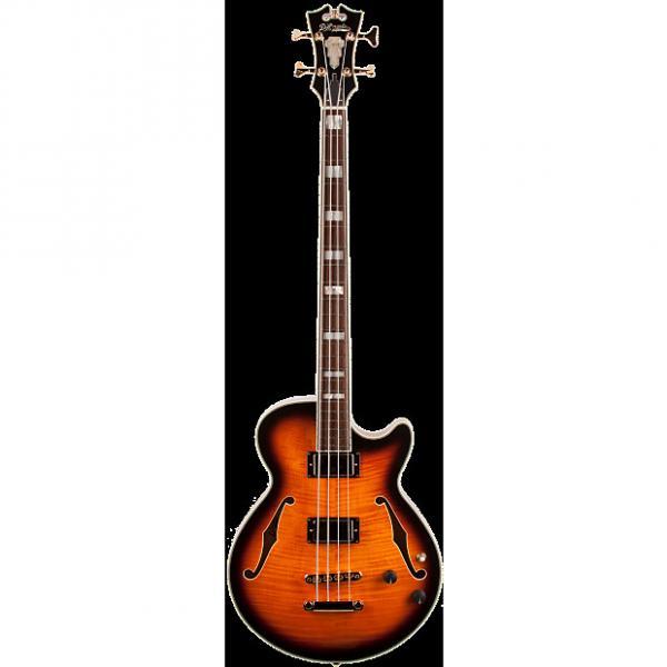 Custom D'Angelico Excel Bass Antique Vintage Sunburst #1 image