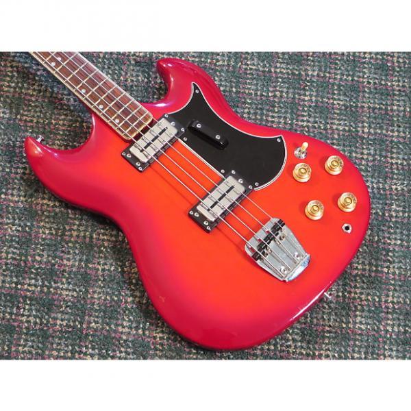 Custom 1970s Univox Japan BadAzz 4 String Short Scale Bass! w/gigbag #1 image
