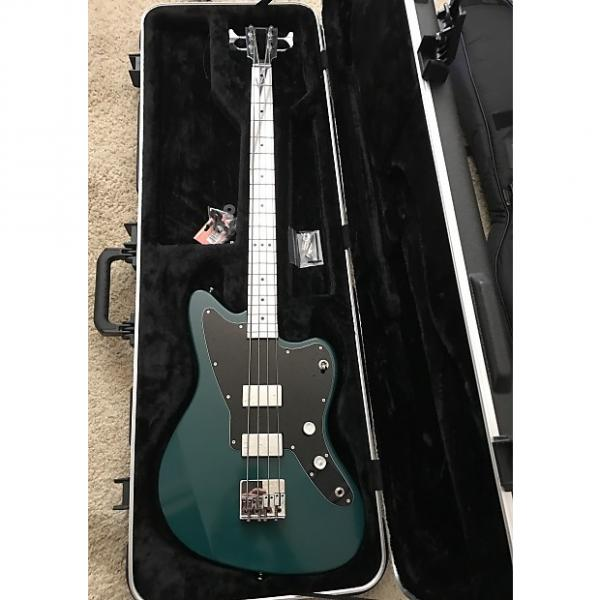 Custom Electrical Guitar Company EGC Series 5 Aluminum 2016 Deep Blue Green Shellac #1 image