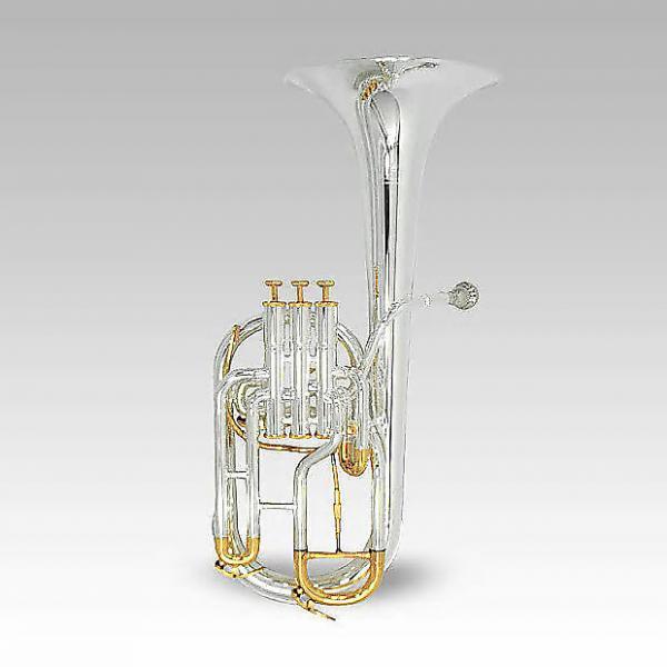 Custom Schiller Elite Edinburg Alto Horn Silver Plated & Gold #1 image