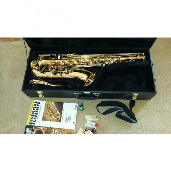 Custom Buescher BU-5 Tenor Saxophone with case and extras Great Shape FREE shipping #1 image