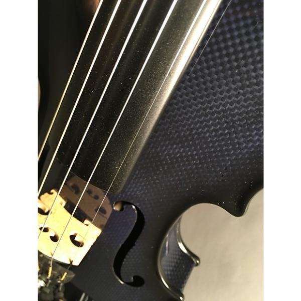 Custom 5-String Acoustic Electric Glasser Carbon Compsite Violin #1 image