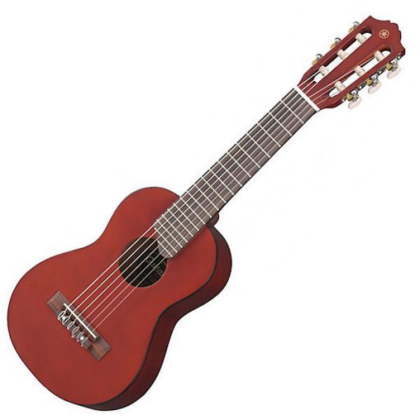 Custom Yamaha Guitalele GL1 PB Guitar Ukulele 6 String Persimmon Brown with Bag #1 image