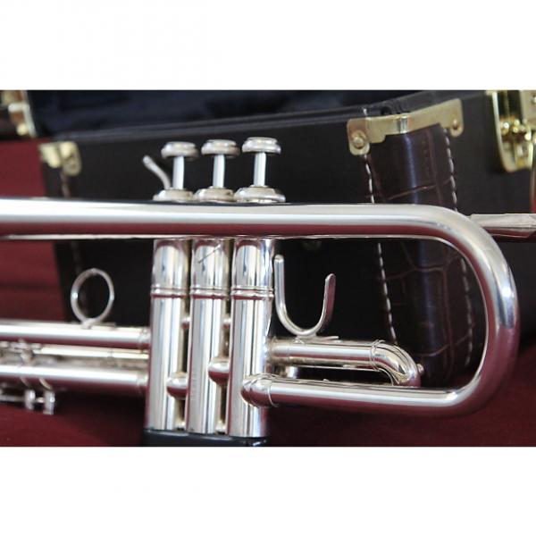 Custom Bach trumpet  LR180S-43 Stradivarius, professional 2012 (seldom used) Silver plated #1 image