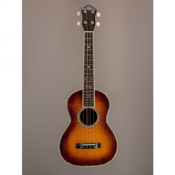 Custom E.J. Henderson Guitars Style 41 Tenor Ukulele 2015 Sunburst #1 image