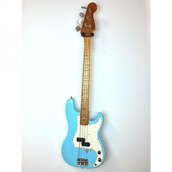 Custom Fender Precision Bass 1976 Daphne Blue #1 image