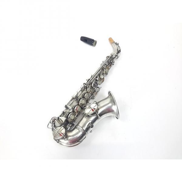 Custom Vintage CG Conn New Wonder Curved Soprano Sax Saxophone #1 1921 w/ Mouthpiece / No Case #1 image