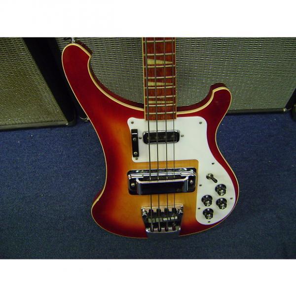 Custom Rickenbacker 4003 2002 Fireglo Electric Bass Guitar #1 image