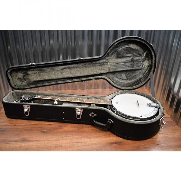 Custom Washburn B16K 5 String Banjo & Hard Shell Case #40 #1 image