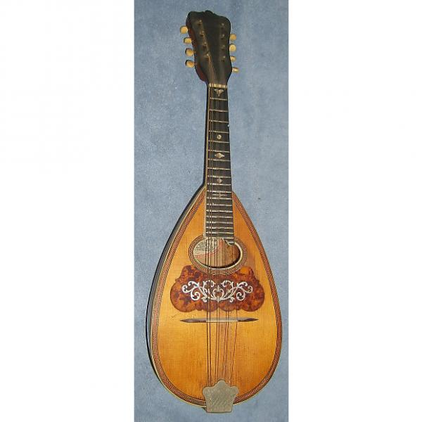 Custom Vintage Early 1900's Washburn USA Mandolin ! Rosewood ! Fancy Inlays ! NICE ! #1 image