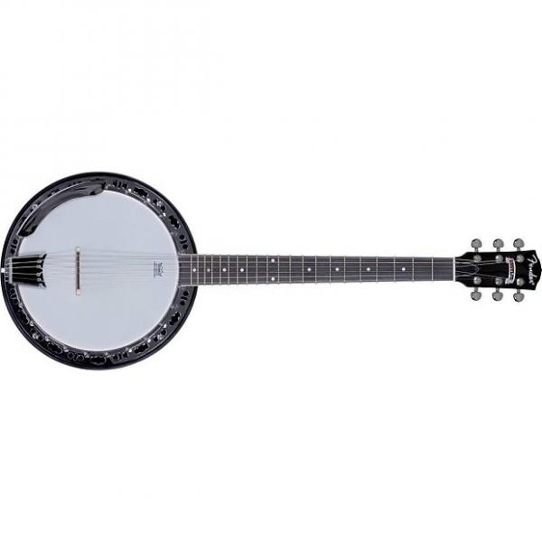 Custom Fender Rustler 6-String Banjo, Mahogany #1 image