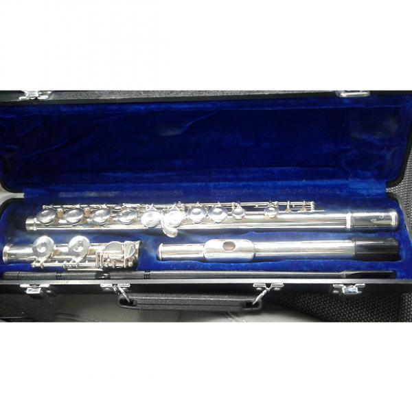 Custom Armstrong YFL-221 Student Flute w/ Case 2000's Chrome #1 image