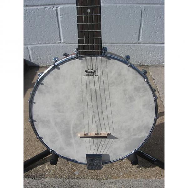 Custom Savannah Open Back Banjo SB*070 Brown #1 image