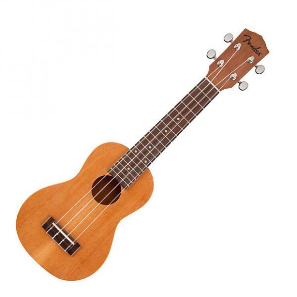 Custom Fender  piha'eu soprano ukulele 2017 mahogany #1 image