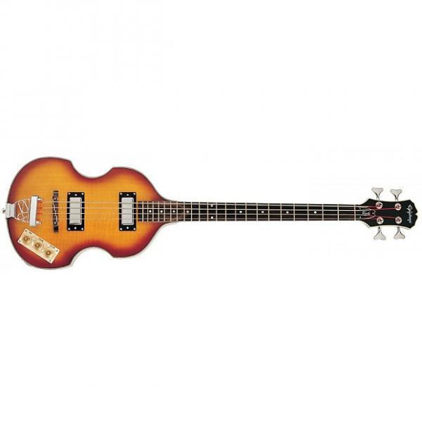 Custom Epiphone Viola Bass Sunburst #1 image