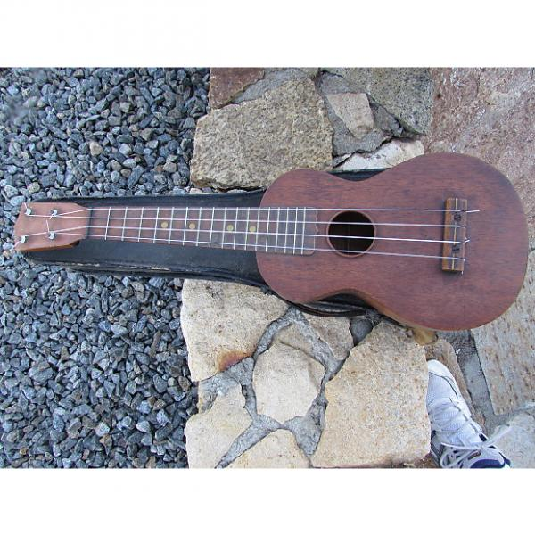 Custom Lyon and Healy Soprano Ukulele Pat Pending With Original Case  1930's Natural #1 image