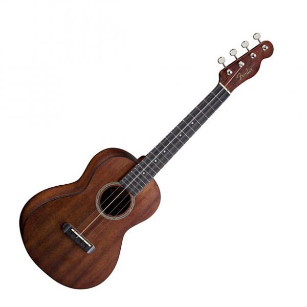 Custom Fender Hau'oli Ukulele tenor  2017 mahogany free ship #1 image