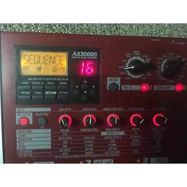 Custom Korg  ax3000b bass guitar pedal #1 image