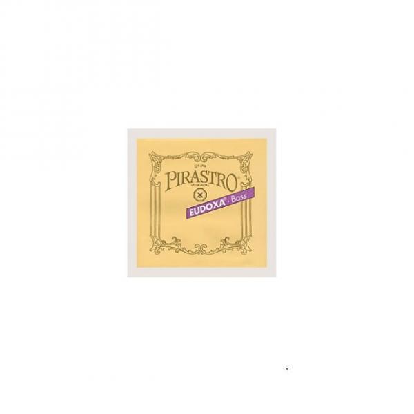 Custom 4TH E DOUBLE BASS STRING SILVER/ GUT 3/4 SIZE / EUDOXA (PIRASTRO) #1 image