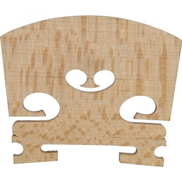 Custom 1/4 size violin bridge maple #1 image