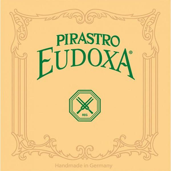 Custom 2ND D DOUBLE BASS STRING SILVER/ GUT 3/4 SIZE / EUDOXA (PIRASTRO) #1 image