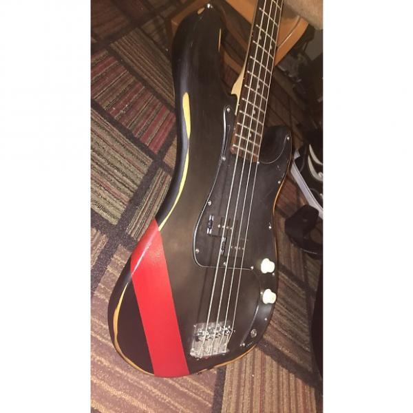 Custom Squier Relic Precision Bass #1 image