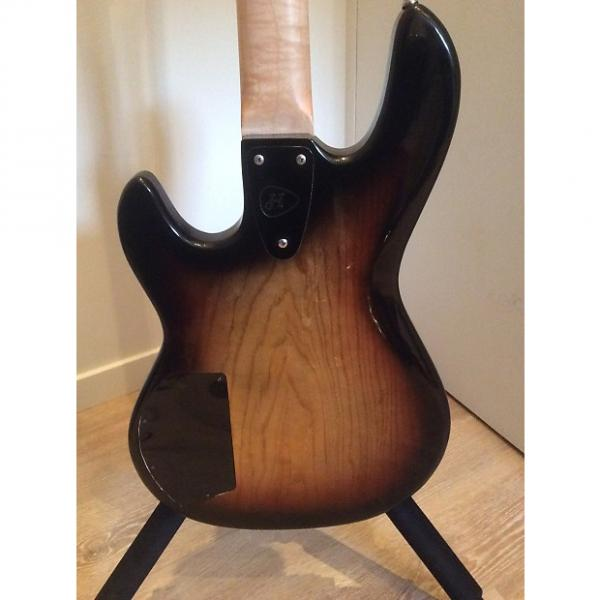 Custom Heaven Guitars SunBass Lined Fretless Sunburst #1 image