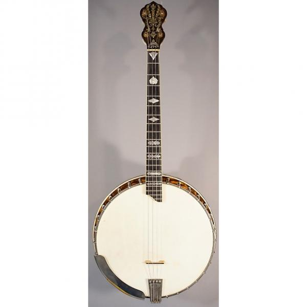 Custom USED! 1923 Vega Tubaphone Style X Number 9 Tenor Banjo With Case! #1 image