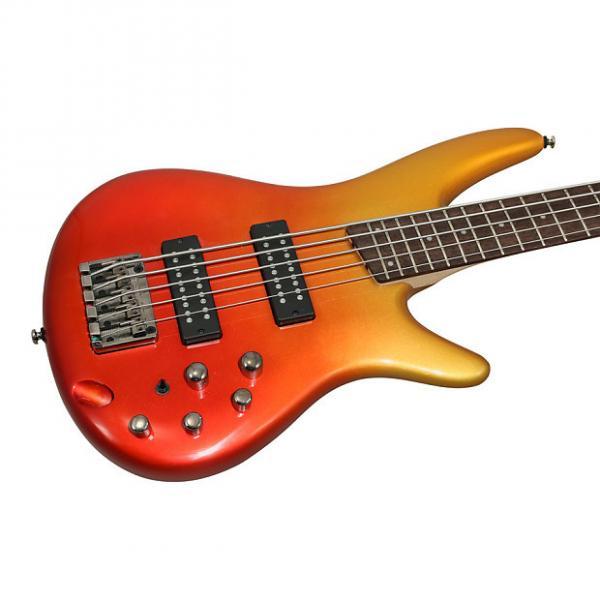 Custom Ibanez SR305E Autumn Fade Metallic Electric 5 String Bass #1 image