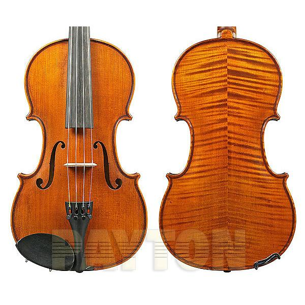 Custom 4/4 size violin dark antique w/dominant strings / gliga i (violin only) #1 image