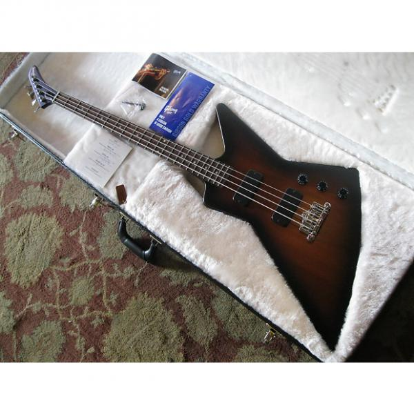 Custom Gibson Explorer Bass 2012 Satin Vintage Sunburst + OHSC & manual #1 image
