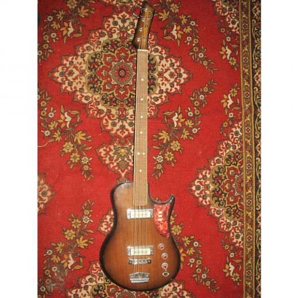 Custom Ural 510 Bass Guitar USSR Rare Vintage Electric Soviet Russian 1975-1980 #1 image