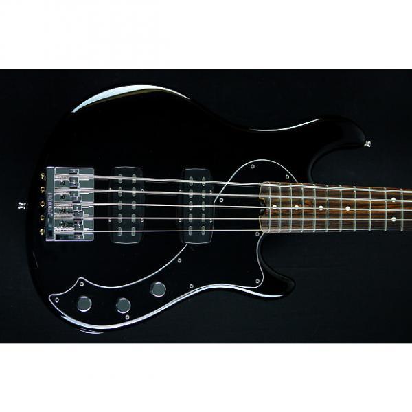 Custom Fender  American Standard Dimension Bass V HH 2014 Black #1 image