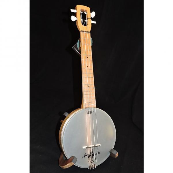 Custom Magic Fluke M90M Firefly Maple Fretboard Concert Banjo Ukulele #1 image