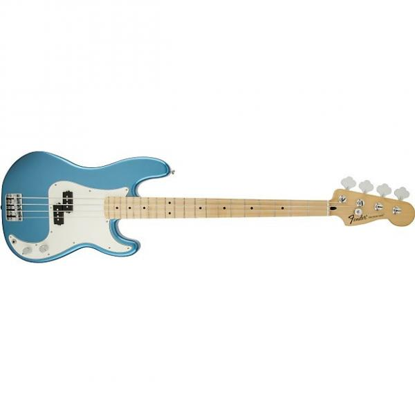 Custom Fender 0146102502 Standard Precision Bass Lake Placid Blue w/ Maple Fretboard #1 image