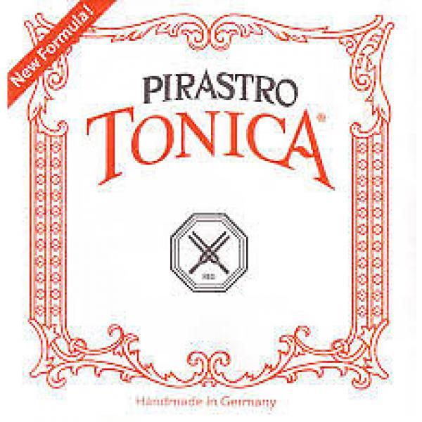 Custom Pirastro Tonica 3/4-1/2 size Violin strings set silver steel #1 image