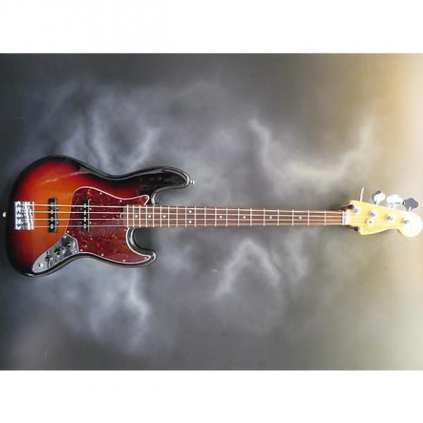 Custom Fender American Standard Jazz Bass IV 2015 3-Tone Sunburst #1 image